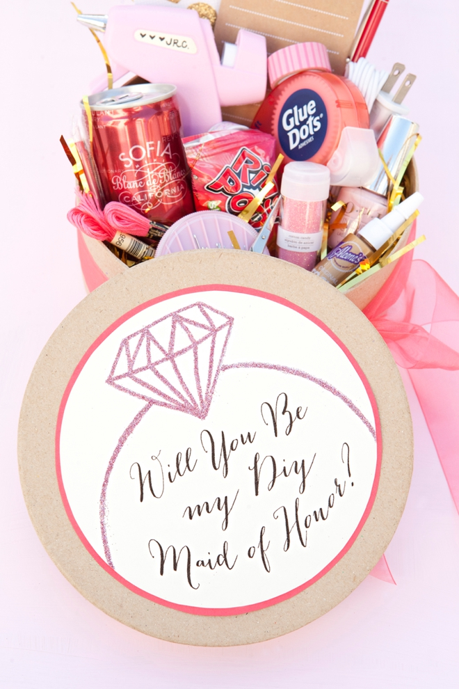 Check Out This Awesome Will You Be My DIY Bridesmaid