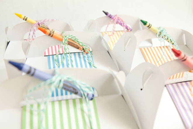 Wedding Gift Ideas For Kids: Make These Cute Kids Wedding Favors + Free Coloring Pages