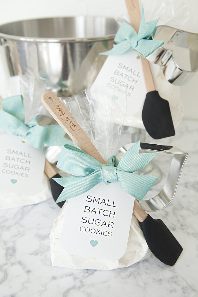 Check Out These Adorable Diy Sugar Cookie Mix Favors
