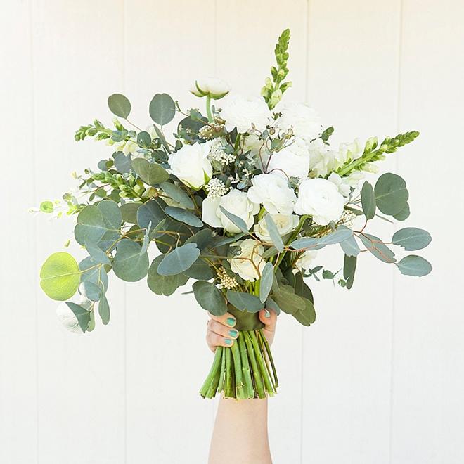 Bouquet Blueprint Lush Organic Eucalyptus