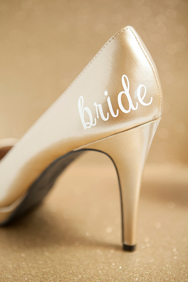 Single Heart Bride Custom Shoe 118