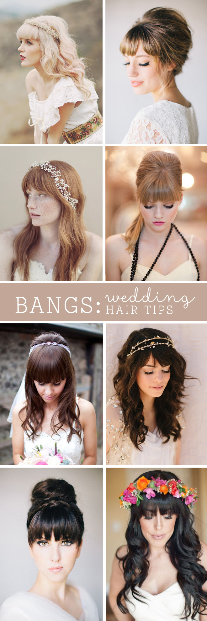 Strange Must Read Tips For Wedding Hairstyles With Full Fringe Bangs Short Hairstyles Gunalazisus
