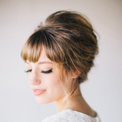 Sensational Must Read Tips For Wedding Hairstyles With Full Fringe Bangs Short Hairstyles Gunalazisus