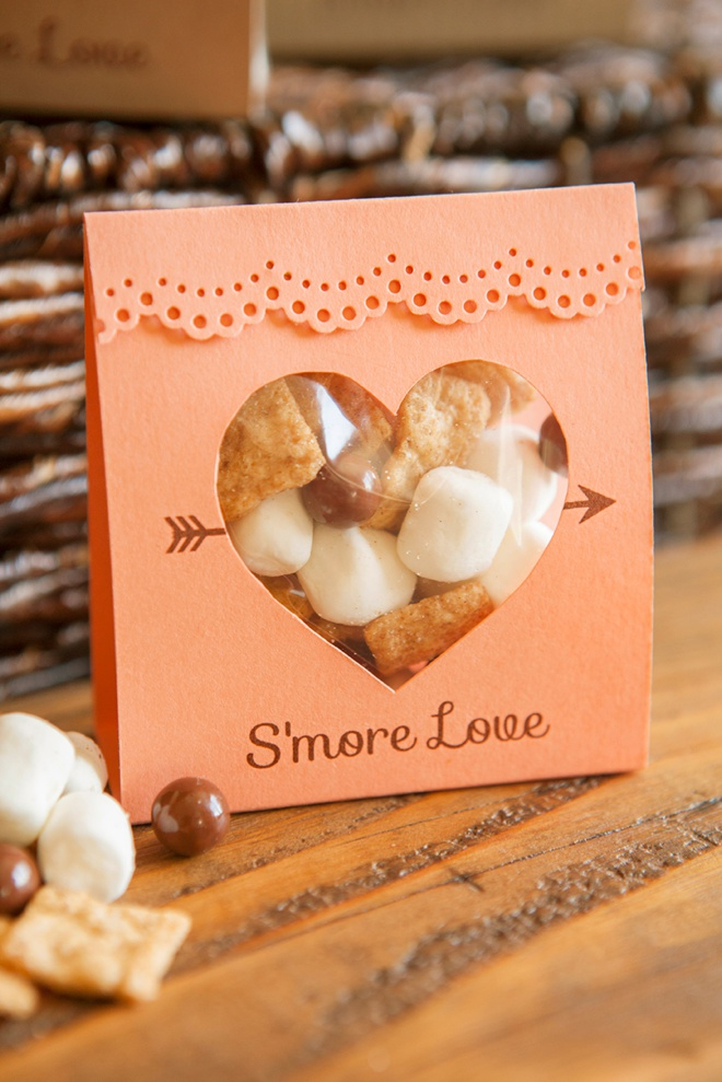 How To Make These Adorable S'more Love Wedding Favors
