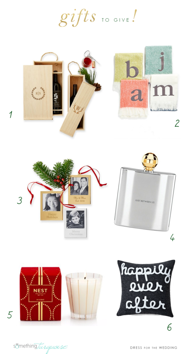 Wedding Gift List Holiday : Holiday Gift Guide Something Turquoise shares picks from Dress for ...