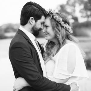 We LOVE this super sweet crafty wedding!