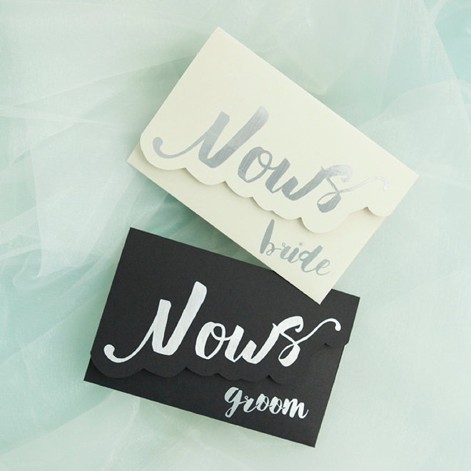 Design Your Own Swag Contest Ends Today: Make Your Own Adorable Wedding Vow Notebooks