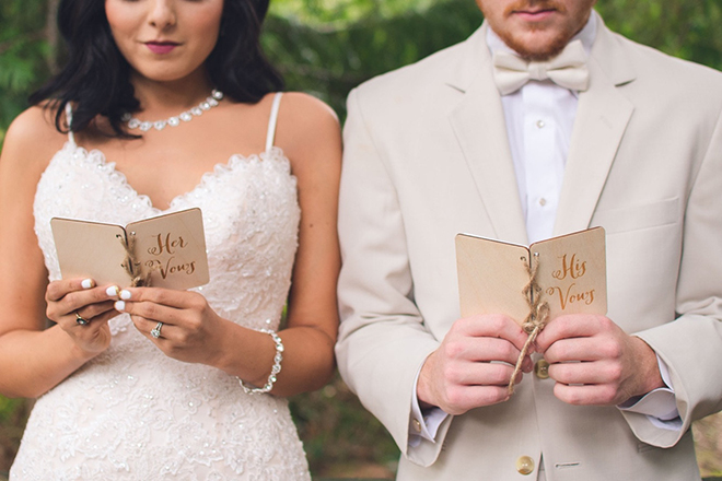 how to write wedding vows together