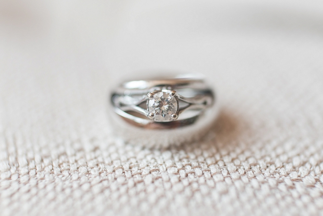 Loving this gorgeous ring shot! Also loving the sweet story behind it!