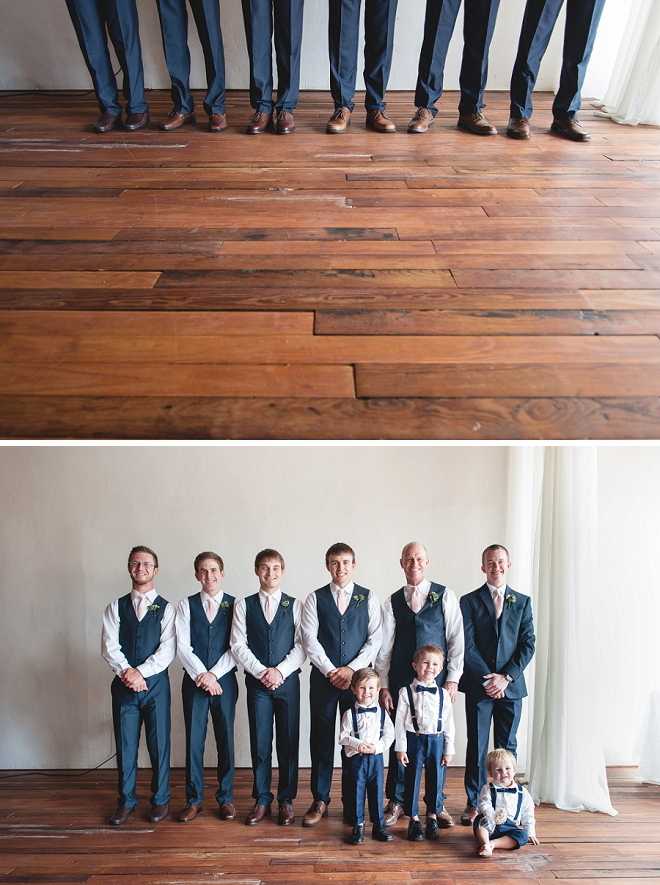 Loving this fun Groom and his great group of Groomsmen!