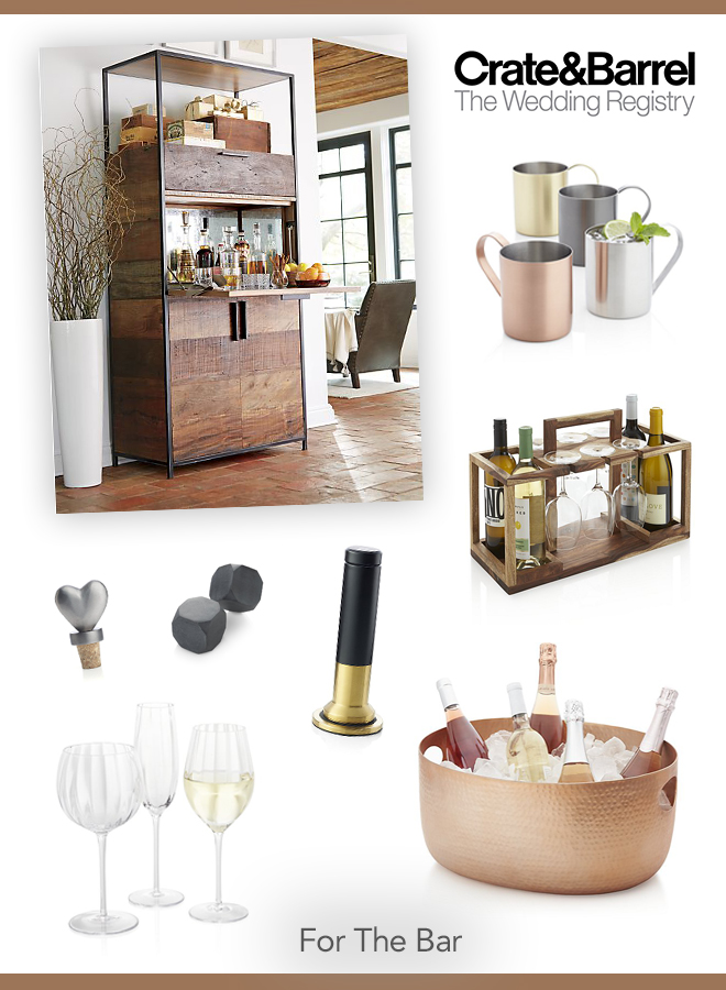 2017 Wedding Registry Must Haves From Crate And Barrel